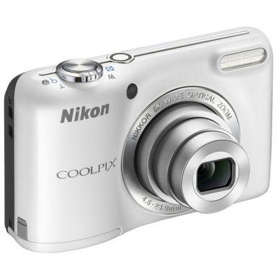 Компактный фотоаппарат Nikon Coolpix L27/White [VNA363E1]