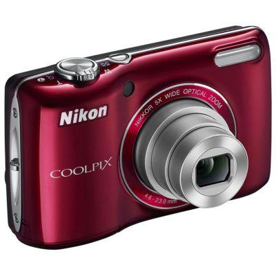 Компактный фотоаппарат Nikon Coolpix L27/Red [VNA362E1]