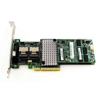 Lenovo Контроллер ThinkServer 710 RAID Adapter with 1GB DDRIII Flash (2 int (SFF8087) ports SAS) PCI-E x8 0C19489