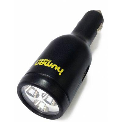Зарядное устройство Human Friends автомобильное Flash Black