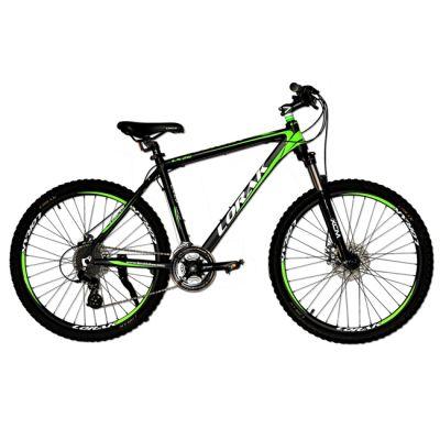 "Велосипед Lorak LX 20 17"" черно - зеленый"