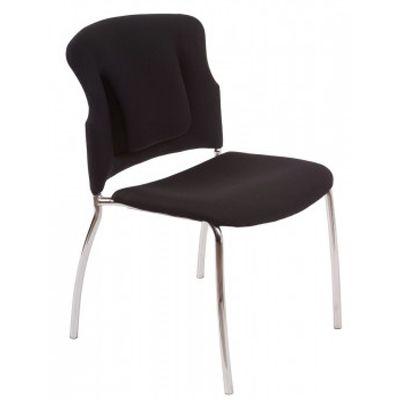 Офисное кресло Бюрократ Посетителя KP-H320SXN/BLACK