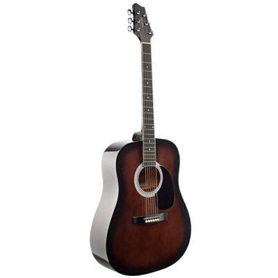 Акустическая гитара Stagg SW201-BKS