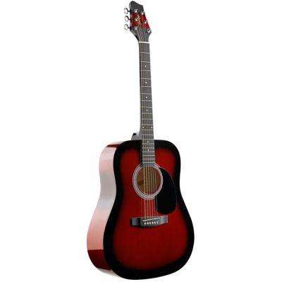 Акустическая гитара Stagg SW201-RDS