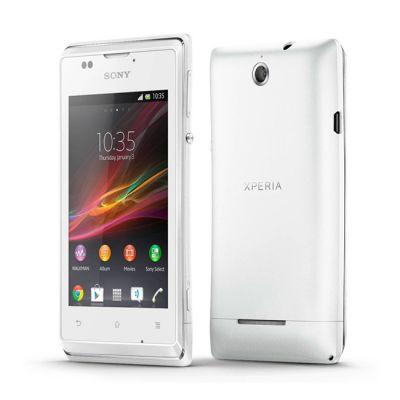 Смартфон Sony Xperia E White C1505