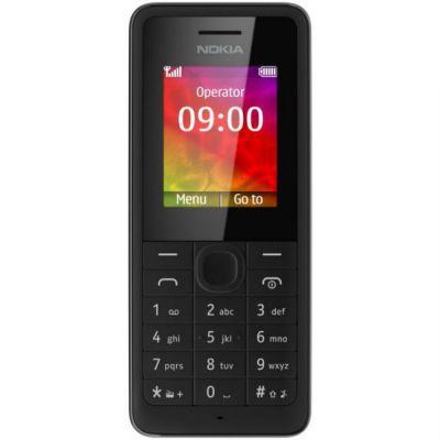 Телефон Nokia 106 (черный)