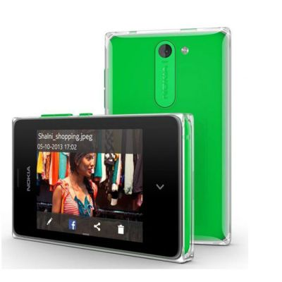 Смартфон Nokia Asha 502 Dual SIM (Green)
