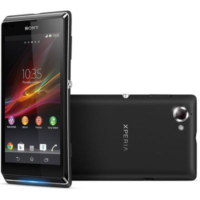 Смартфон Sony Xperia L Black C2105