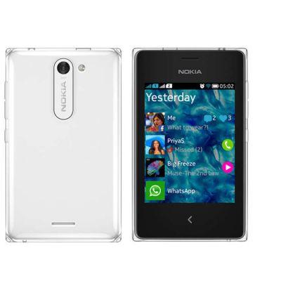 Смартфон Nokia Asha 502 Dual SIM (White)