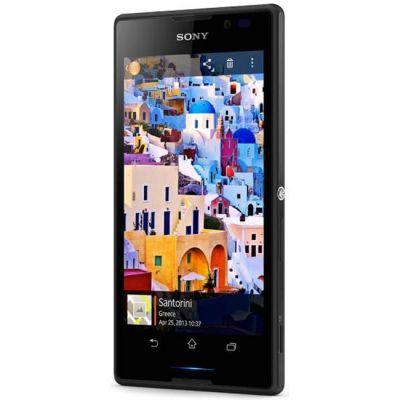 Смартфон Sony Xperia C Black (C2305)