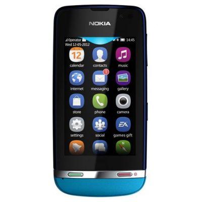 Смартфон Nokia Asha 311 (голубой)