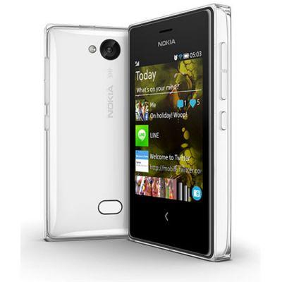 Смартфон Nokia Asha 503 Dual SIM (White) A00016296