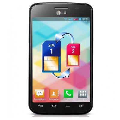 Смартфон LG Optimus L4 II Dual E445 (Черный)