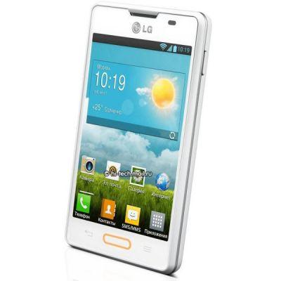 Смартфон LG Optimus L4 II E440 (Белый)