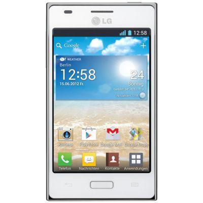 Смартфон LG Optimus L5 E612 (Белый)