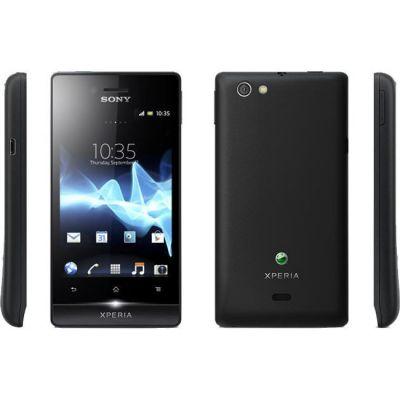 Смартфон Sony Xperia miro Black ST23i