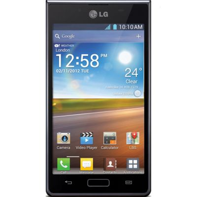 Смартфон LG Optimus L7 P705 (Черный)