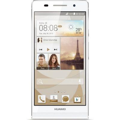 Смартфон Huawei Ascend P6 (White) P6-U06