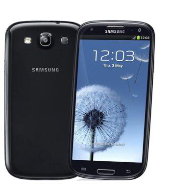 Смартфон Samsung Galaxy S III 16Gb GT-I9300 Black GT-I9300OKDSER