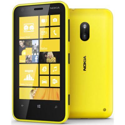 Смартфон Nokia Lumia 620 (жёлтый)