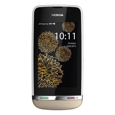 Смартфон Nokia Asha 311 (Sand White Charme)