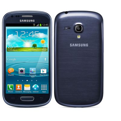 Смартфон Samsung Galaxy S III mini 8Gb GT-I8190 Blue GT-I8190MBASER