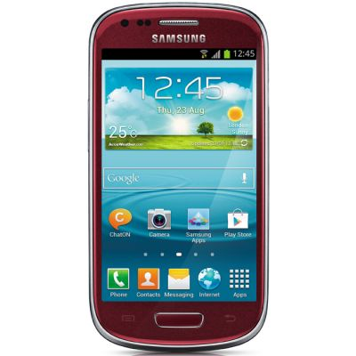 Смартфон Samsung Galaxy S III mini 8Gb GT-I8190 Red GT-I8190GRASER