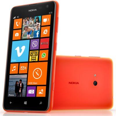Смартфон Nokia Lumia 625 (оранжевый)