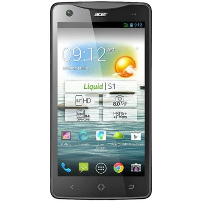 Смартфон Acer S510 Dual SIM Black HM.HCJER.001