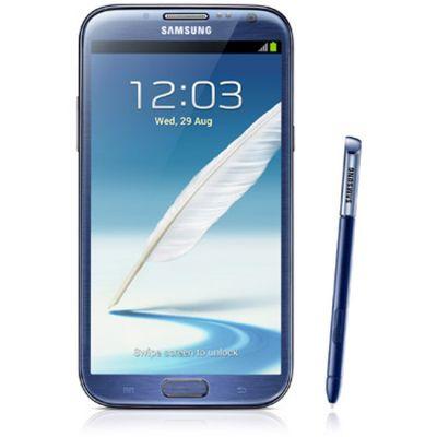 Смартфон Samsung Galaxy Note II 16Gb GT-N7100 Blue GT-N7100ZBDSER