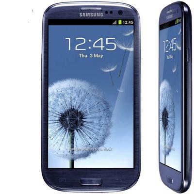 Смартфон Samsung Galaxy S III 16Gb GT-I9300 Pebble Blue GT-I9300MBDSER