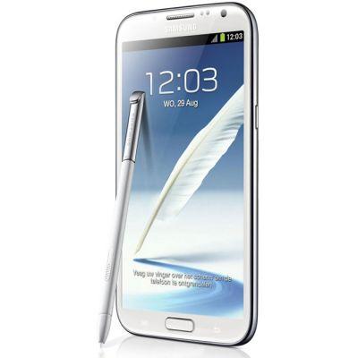 Смартфон Samsung Galaxy Note II 16Gb GT-N7100 White GT-N7100RWDSER