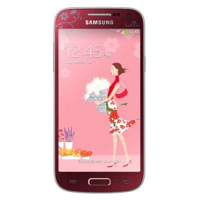 Смартфон Samsung S4 mini DUOS LaFleur GT-I9192 Red GT-I9192ZRZSER