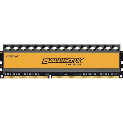 Оперативная память Crucial 4GB DDR3 1600 MT/s (PC3-12800) CL8 @1.5V Ballistix Tactical UDIMM 240pin BLT4G3D1608DT1TX0CEU