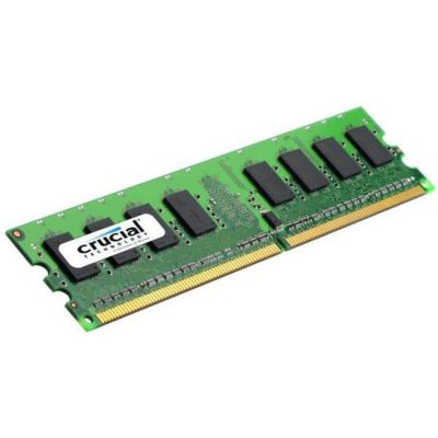 ����������� ������ Crucial DDR2 2Gb 800MHz RTL (PC2-6400) CL6 Unbuffered UDIMM 240pin CT25664AA800