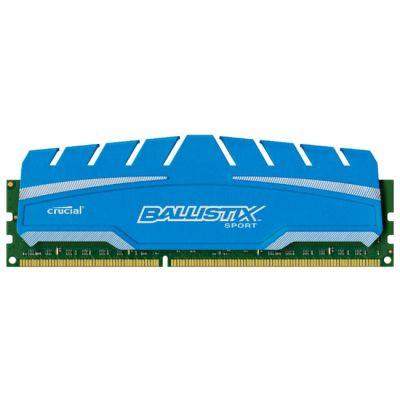 Оперативная память Crucial 8GB DDR3 1866 MT/s (PC3-14800) CL10 @1.5V Ballistix Sport XT UDIMM 240pin BLS8G3D18ADS3CEU