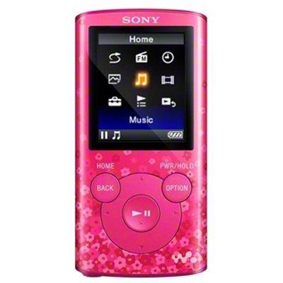 Аудиоплеер Sony NWZ-E383 Pink