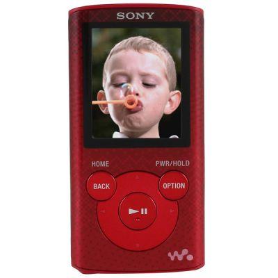 Аудиоплеер Sony NWZ-E384 Red