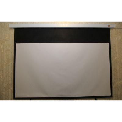 Экран Classic Solution #с электроприводом Lyra (16:9) 244x244 MW (E 236х133/9 MW-L4/W) (Уценка)