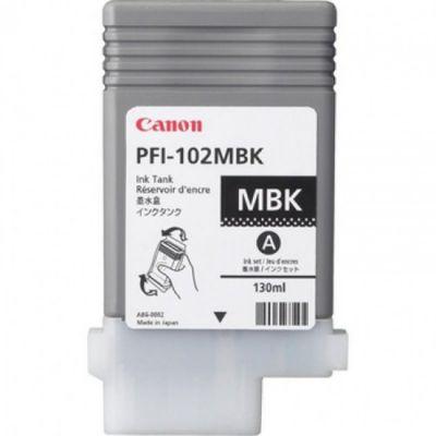 Картридж Canon PFI-102MBk Matte Black/Матовый Черный (0894B001)