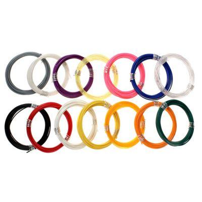 REC ABS-пластик для 3D-ручки (набор 12 цветов в мотках) REC000112