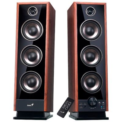 Колонки Genius SP-HF 2020 brown wood SW-HF 2020