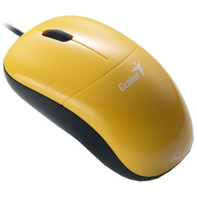 Мышь проводная Genius DX-220 yellow GM-DX 220 Y
