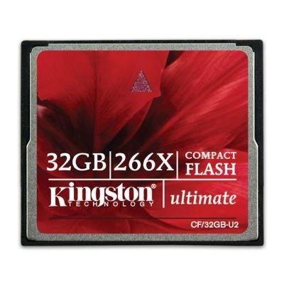 Карта памяти Kingston 32GB Ultimate 266X CF/32GB-U2