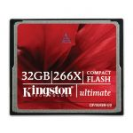 Карта памяти Kingston 32GB Ultimate 266X CF/32GB-U2