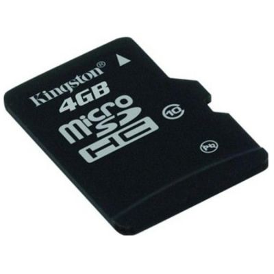 Карта памяти Kingston 4GB microSDHC Class 10 SDC10/4GBSP