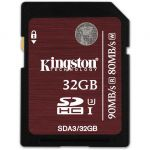 ����� ������ Kingston 32GB SDXC Class 10 UHS-I Class 3 SDA3/32GB