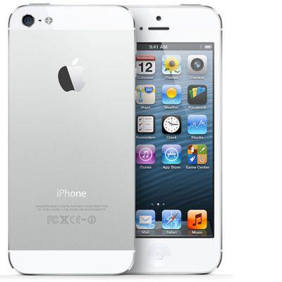 Смартфон Apple iPhone 5 16Gb White MD298RR/A