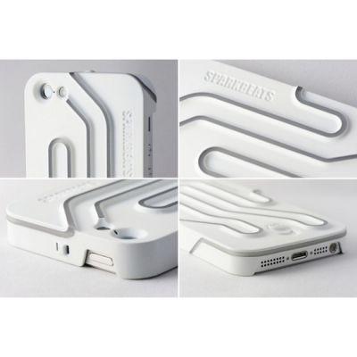 Sparkbeats Клип-кейс для iPhone White