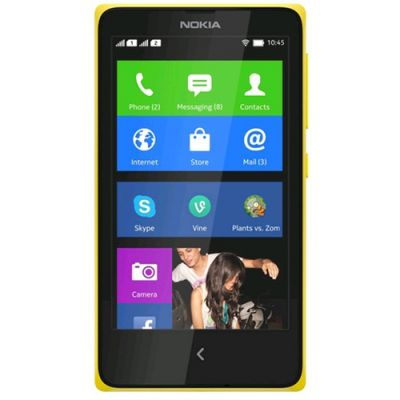 Смартфон Nokia X Dual Sim Yellow RM-980 A00017582